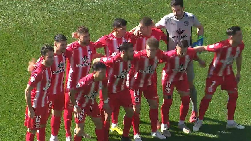 El equipo inicial del Zamora CF