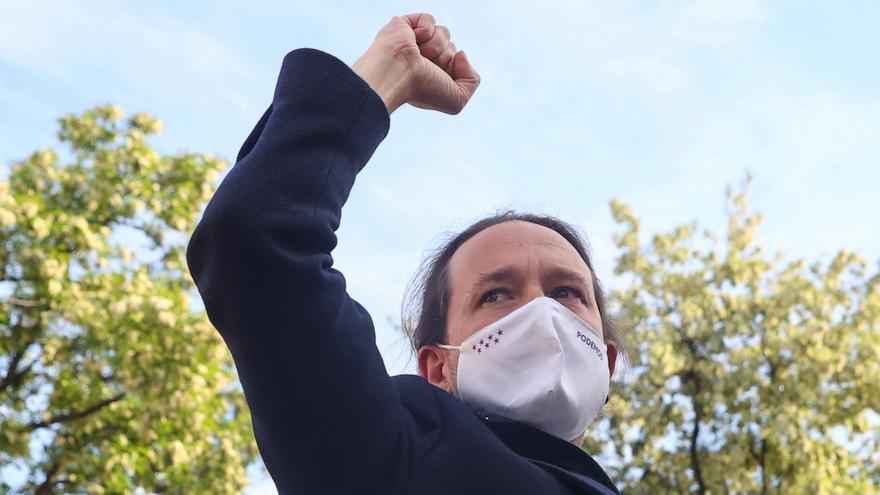 """Iglesias: """"El fascismo forma parte del proyecto de Isabel Díaz Ayuso"""""""