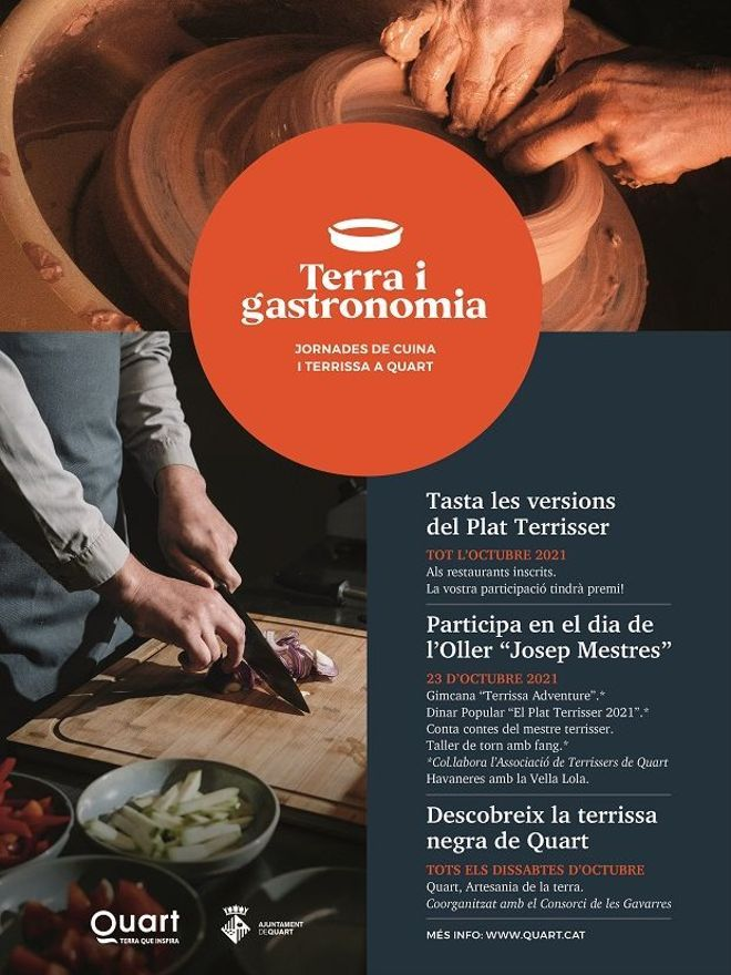 "Cartell de ""Terra i gastronomia"""
