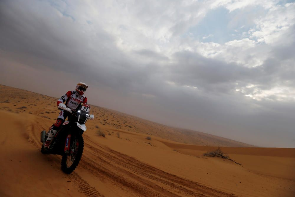 Rally Dakar 2021: 7ª etapa: Ha''il to Sakaka - Ha''il.