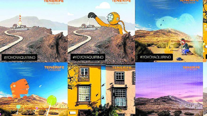 Los paisajes de Tenerife protagonizan el concurso de 'gifs' de los Premios Quirino