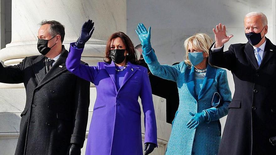 Joe Biden llança un missatge d'unitat en la seva arribada a la Casa Blanca