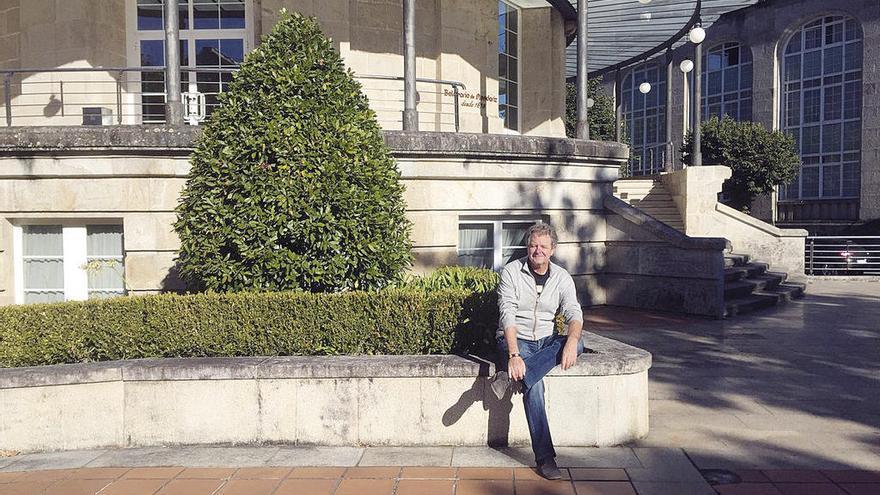 Juan Luis Cano se relaja en Mondariz