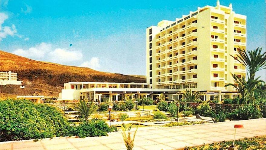 Medio siglo de vida del hotel Jandía Playa