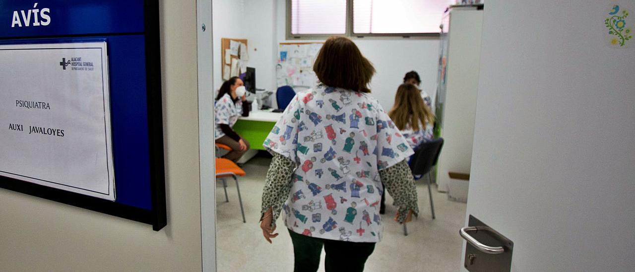 Unidad de Salud Mental Infantil de Benalúa, dependiente del Hospital General de Alicante. | JOSE NAVARRO