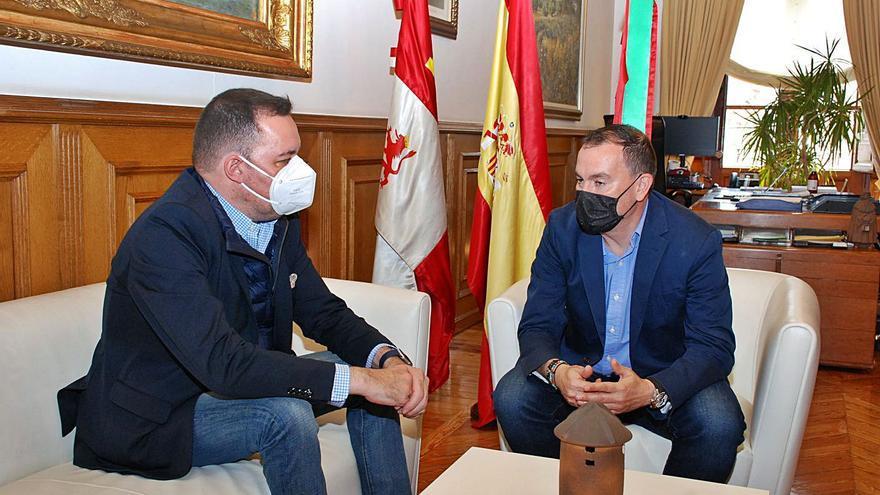 La Diputación y Fundos acuerdan la llegada de dos exposiciones a Zamora en otoño