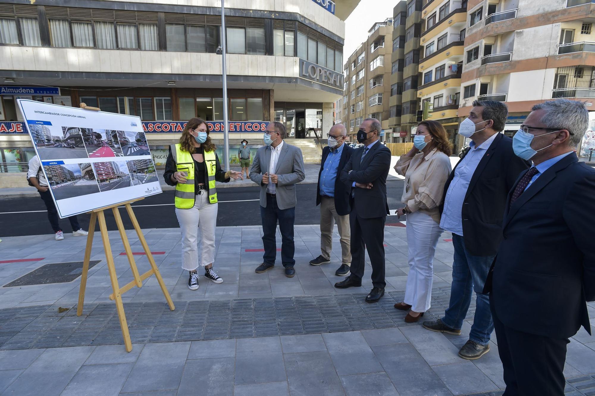 El Ayuntamiento finaliza las obras del nuevo intercambiador de Concepción Arenal