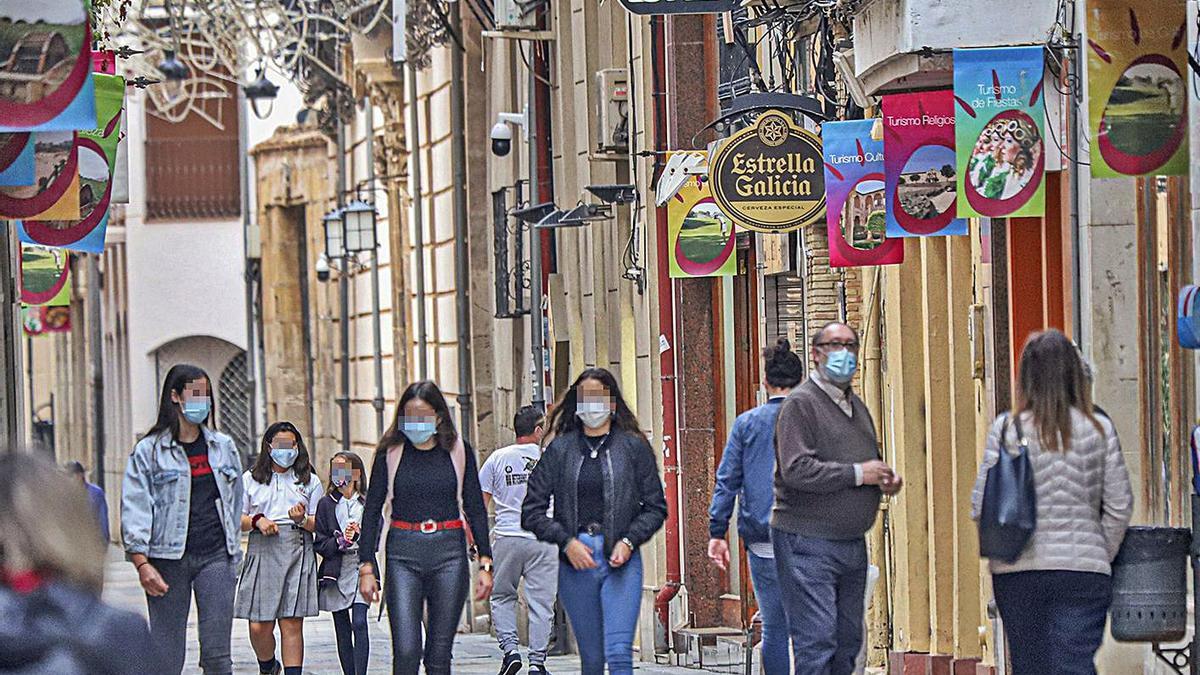Un decreto de Alcaldía endurece desde hoy las medidas restrictivas frente al covid en Orihuela.