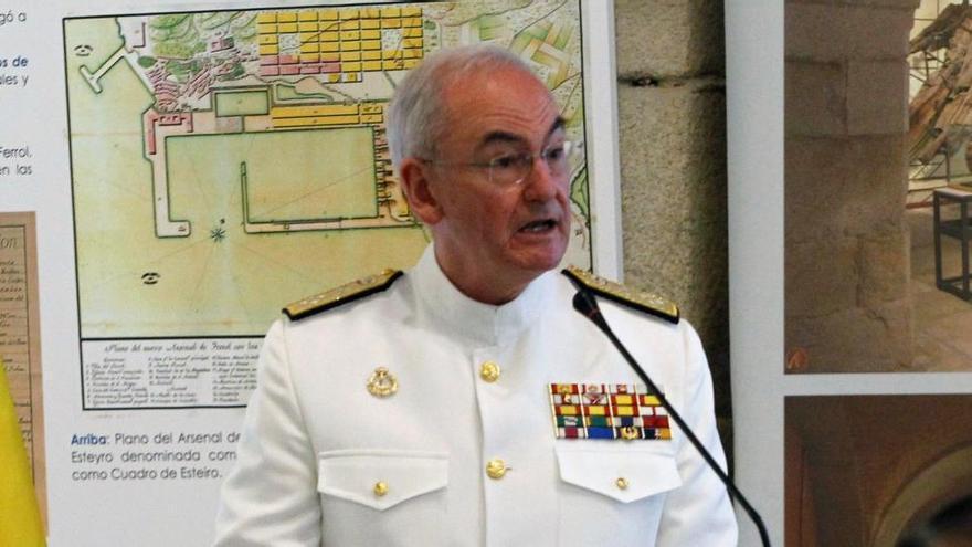 El cartagenero López Calderón, un almirante directo y con mucho bagaje