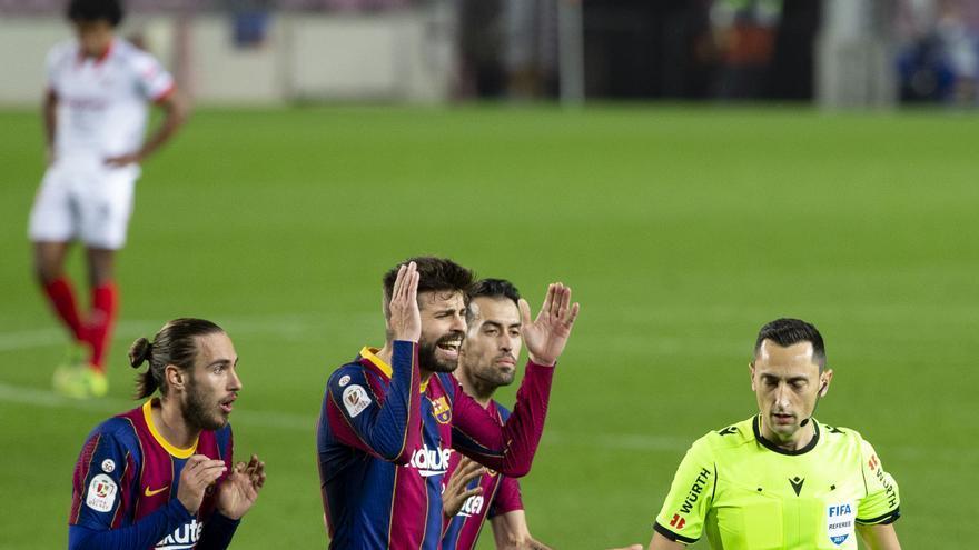 El árbitro murciano Sánchez Martínez dirigirá el Barcelona-Real Madrid