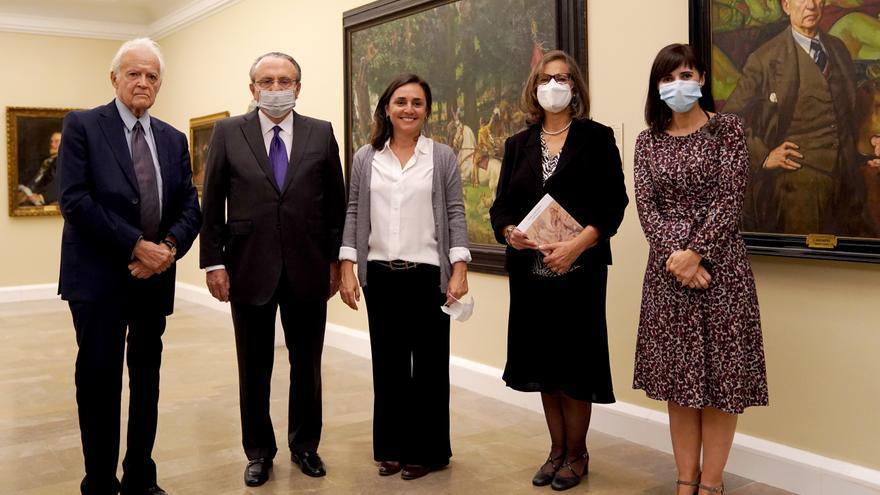 Las imágenes del acto de presentación de 'Escrito sobre Rubens', de Matías Díaz Padrón