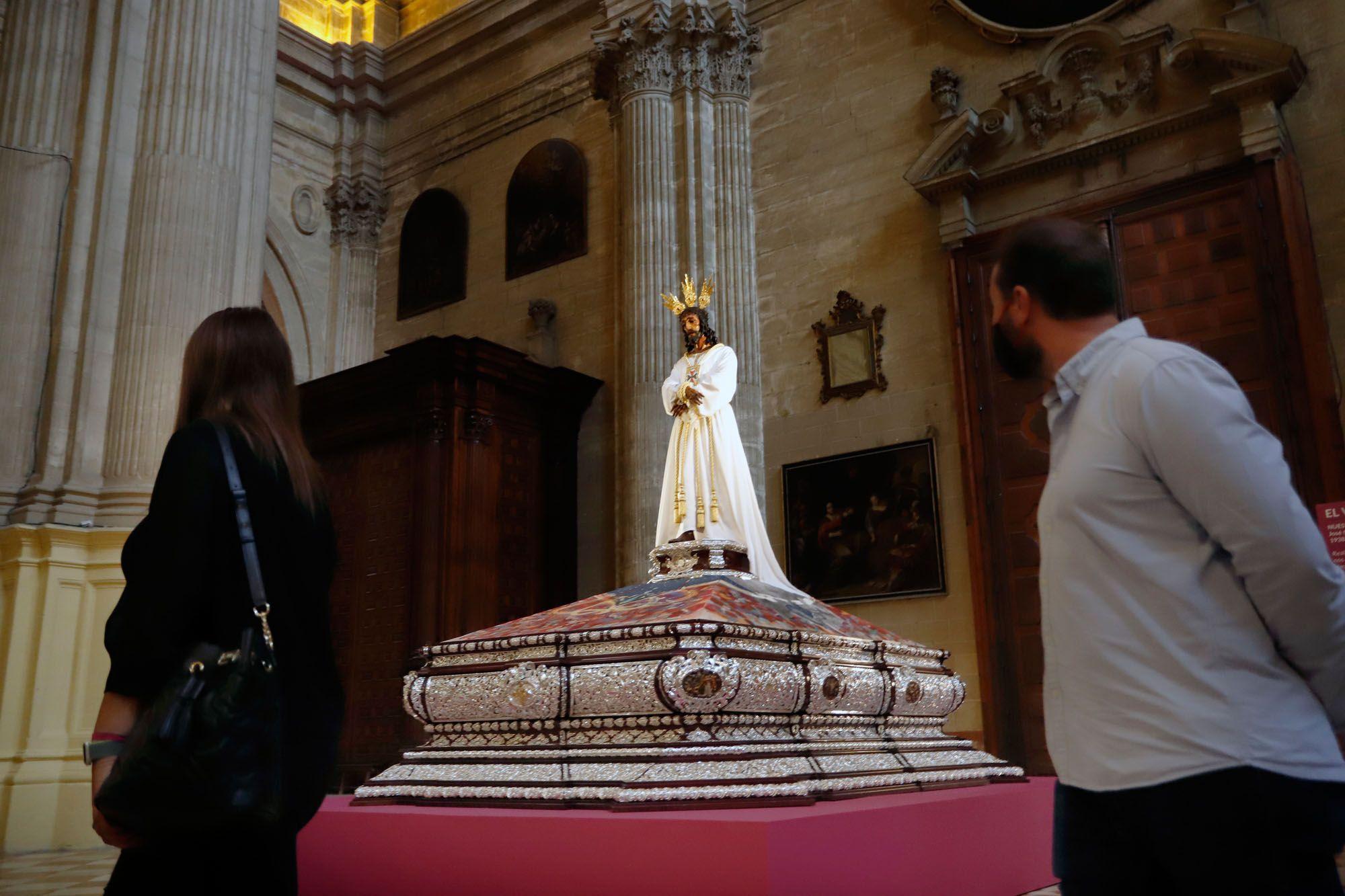 Las imágenes de la exposición 'El Verbo Encarnado' en la Catedral de Málaga