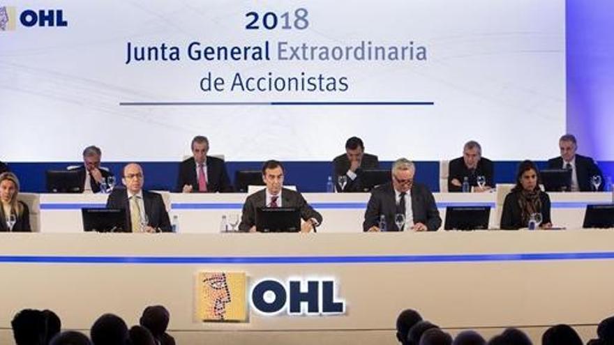 OHL reclama un préstamo vencido de 35 millones a Villar Mir en los tribunales