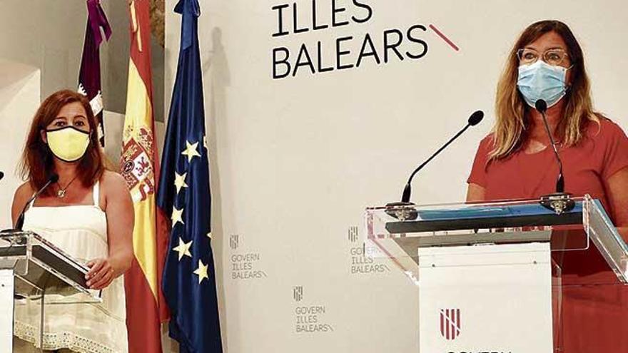 Baleares prohíbe reuniones de más de diez personas y ya estudia limitar la movilidad