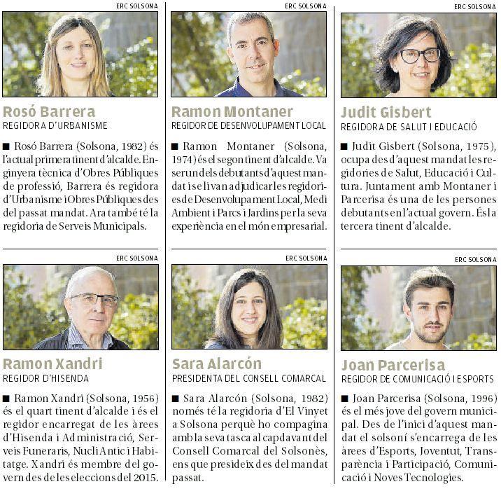 Els possibles relleus de David Rodríguez a l'alcaldia