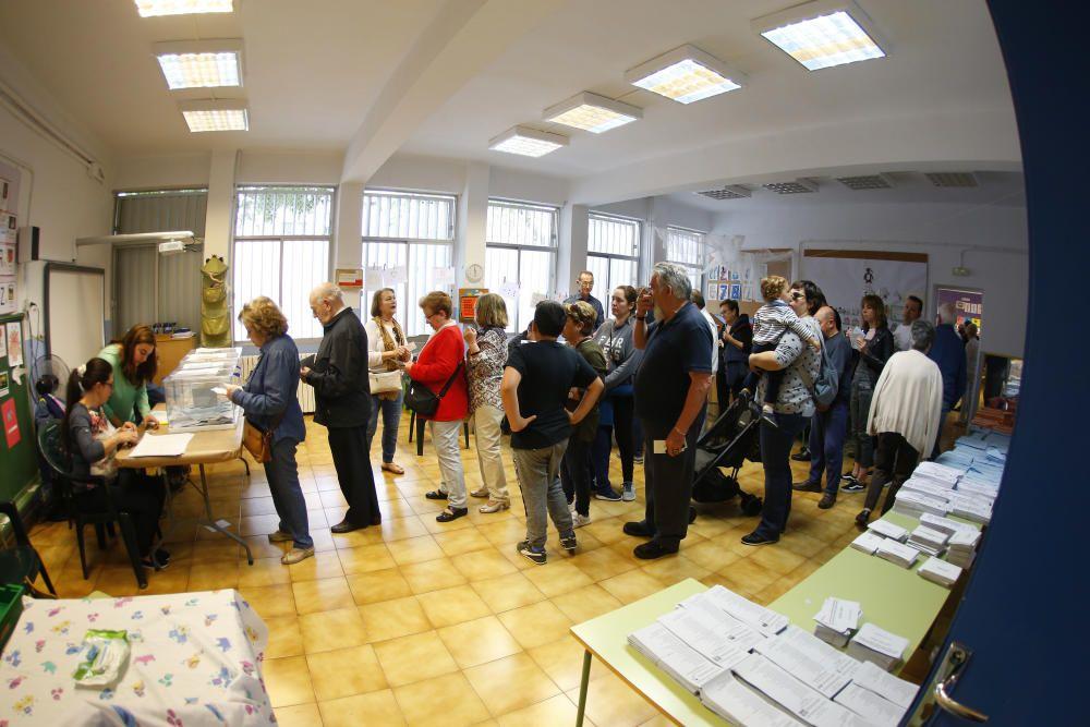 Así está siendo la jornada electoral en Baleares