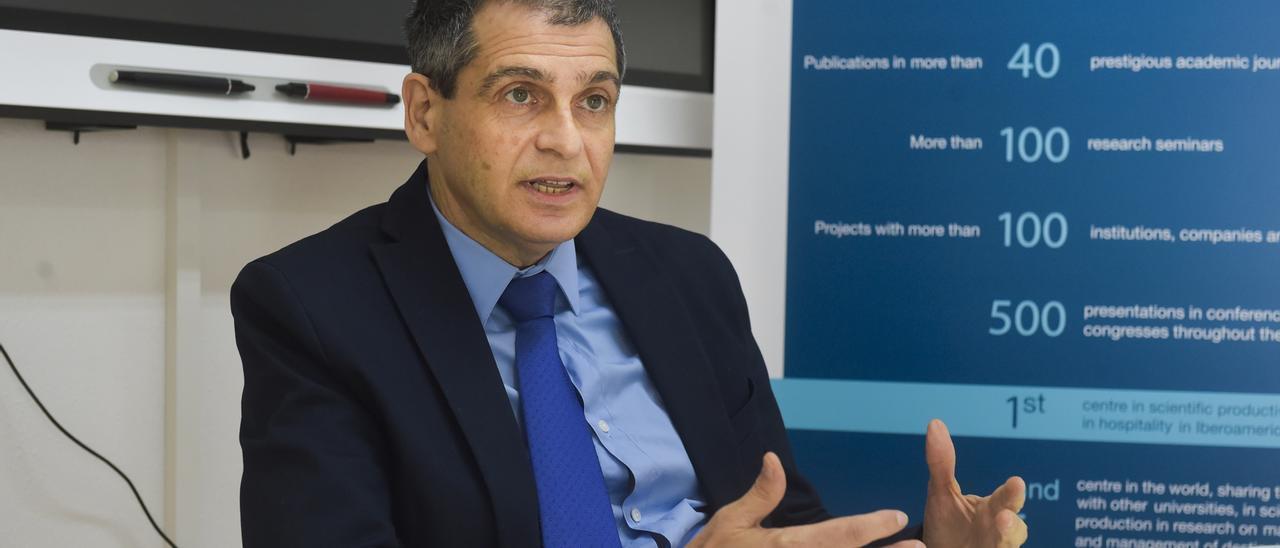 Carmelo León, director del Instituto de Turismo y Desarrollo Económico Sostenible.