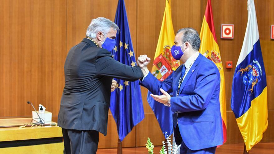Toma de posesión de Lluis Serra como rector de la ULPGC