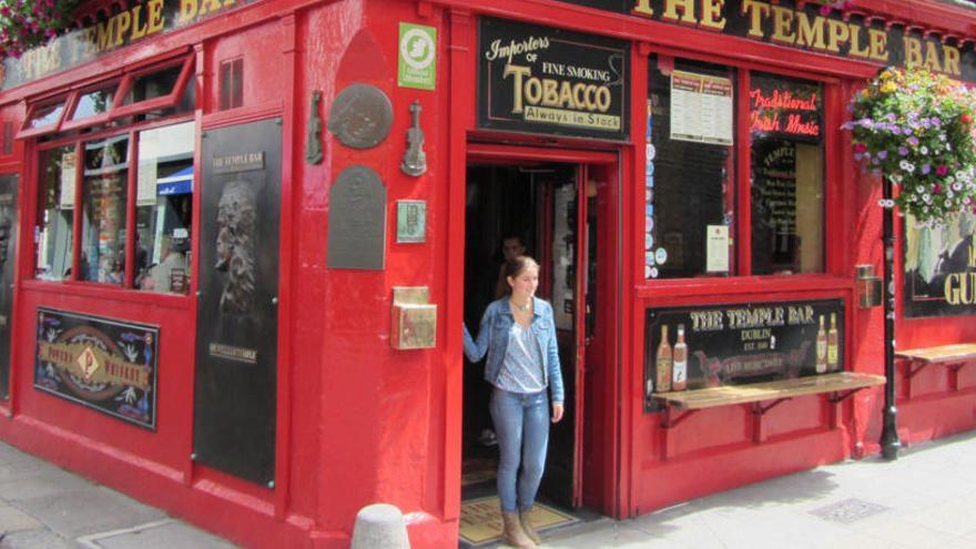 Dublín, la ciutat que no deixa de somriure a la vida