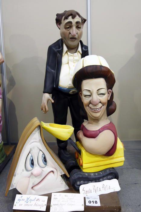 Rita Barberá como ninot de falla