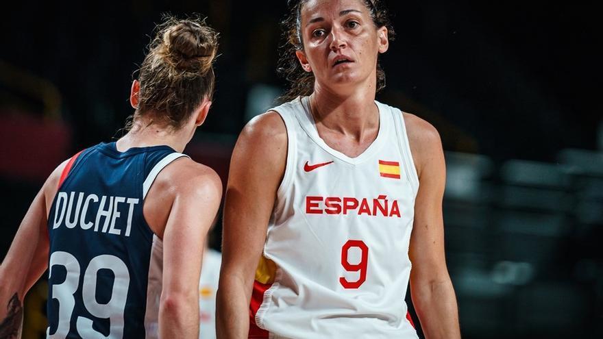 La selección femenina de baloncesto, eliminada en cuartos de final por Francia
