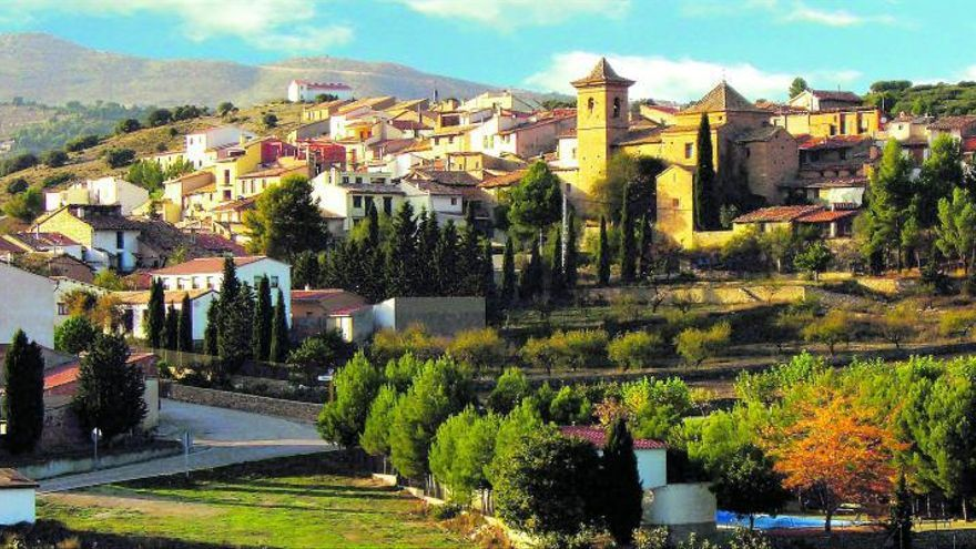 Villores, el pueblo de la Ribera del Bergantes