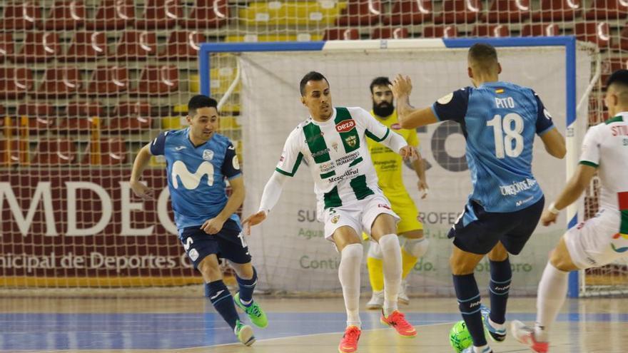Boyos y Caio César, nuevas bajas en el Córdoba Futsal