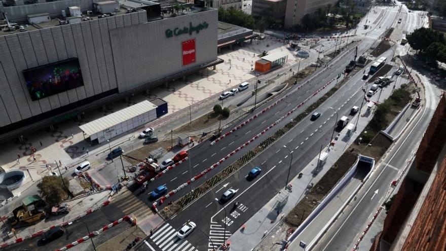 Eliminan el lunes el desvío de tráfico por obras del metro en la calle Armengual de la Mota