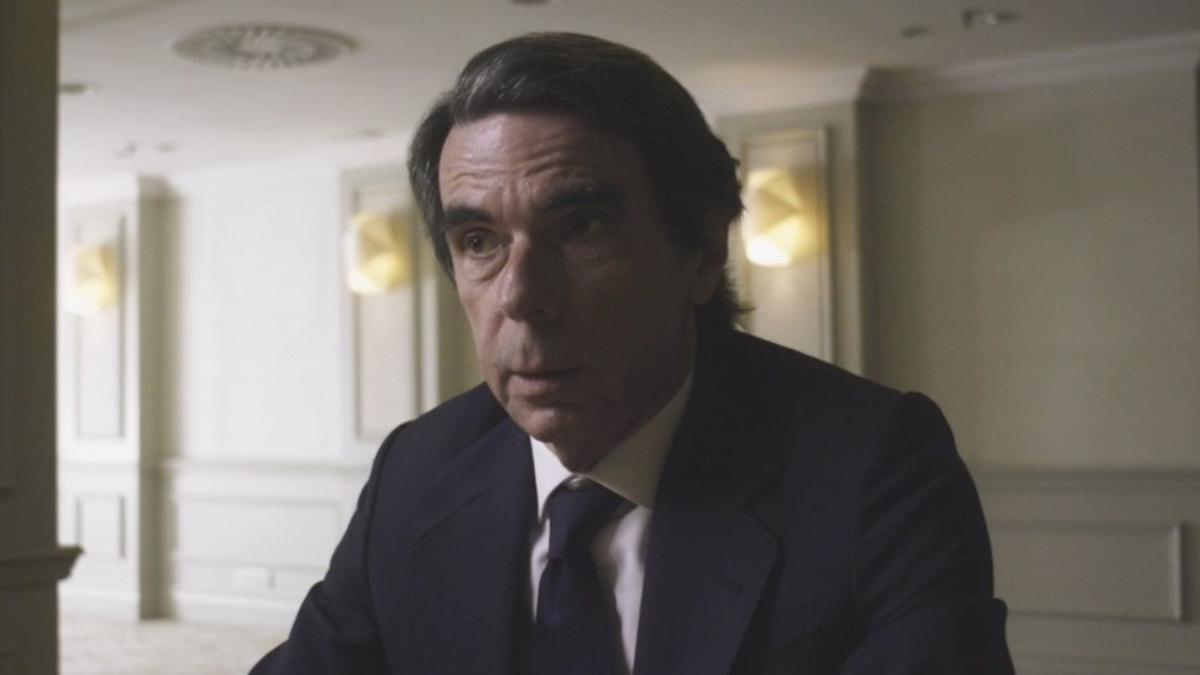 El expresidente, José María Aznar.