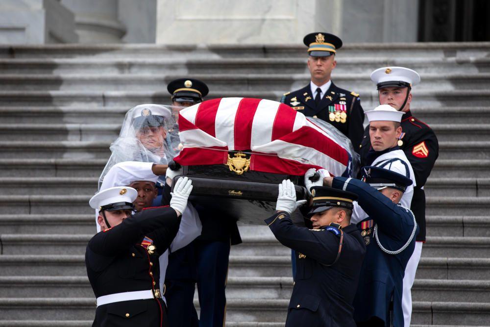 Funeral de Estado en memoria de John McCain