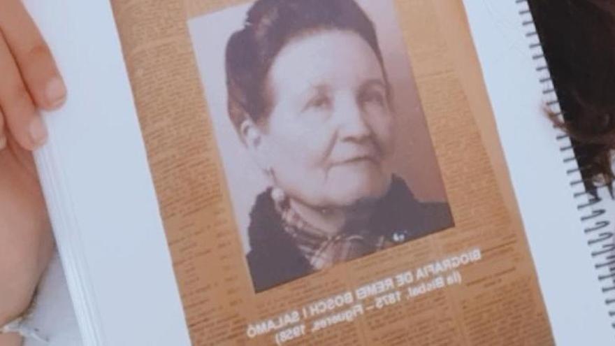 Primer premi Argó pel treball sobre Remei Bosch i Salamó d'una alumna del Cendrassos