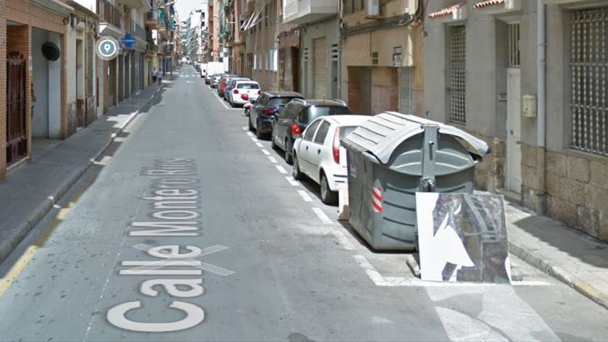 Herida una mujer al colisionar una moto y un coche en Alicante