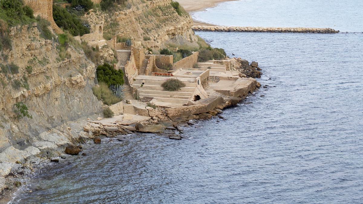 Imagen de archivo de la Cala Manzanera, en Calp