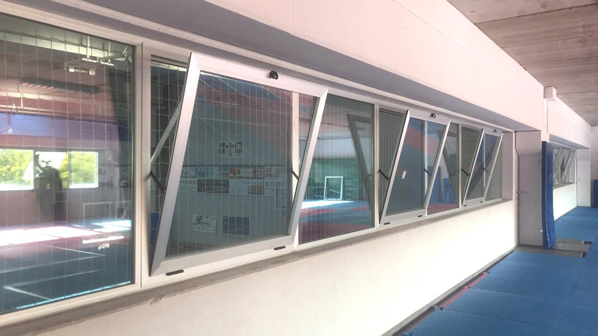 Los nuevos ventanales
