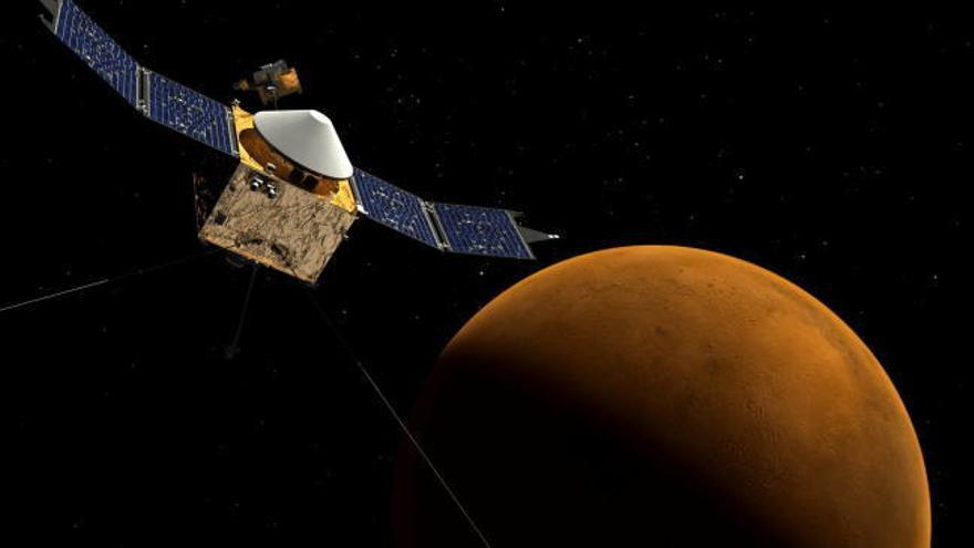 La sonda china Tianwen-1 entrará en la órbita de Marte en febrero