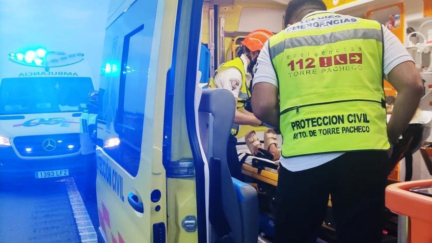 Tres heridos en un accidente de tráfico en Miranda