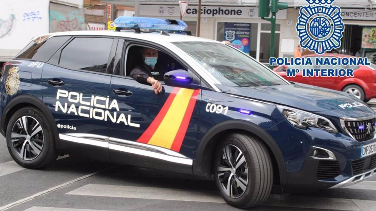 Coche patrulla de la Policía Nacional, en imagen de archivo - POLICÍA NACIONAL