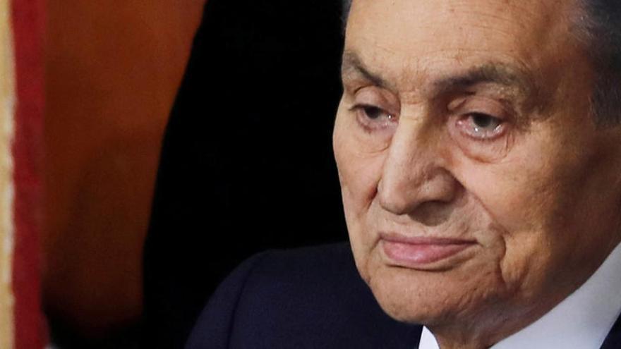 Mor l'expresident d'Egipte Hosni Mubarak als 91 anys
