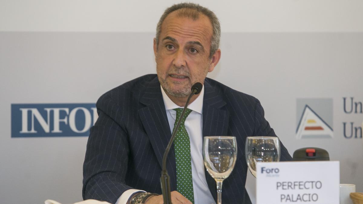 El empresario alicantino Perfecto Palacio.