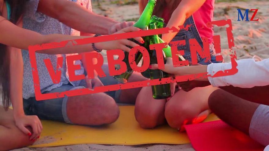 Erste Knöllchen der Saison für Urlauber an der Playa de Palma