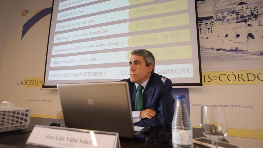 Más del 48% de los 22,3 millones de euros ingresados por la Diócesis de Córdoba son de sus fieles