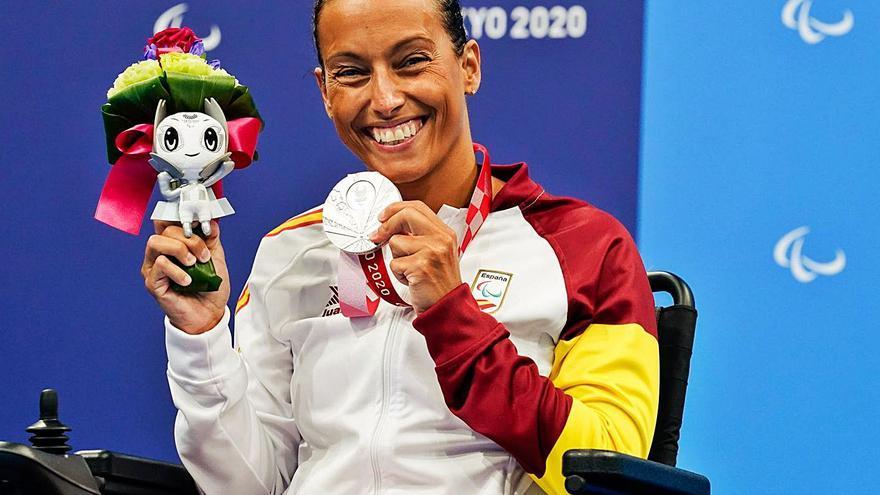 Teresa Perales agranda su leyenda