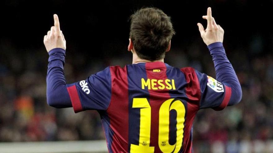 Messi, Eurípides, la suerte y los repartidores