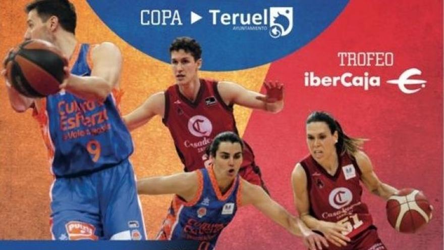 Dos amistosos del Valencia Basket en Teruel