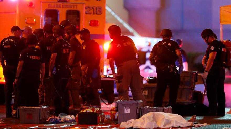 El tiroteo de Las Vegas, el más grave de la historia moderna de EEUU