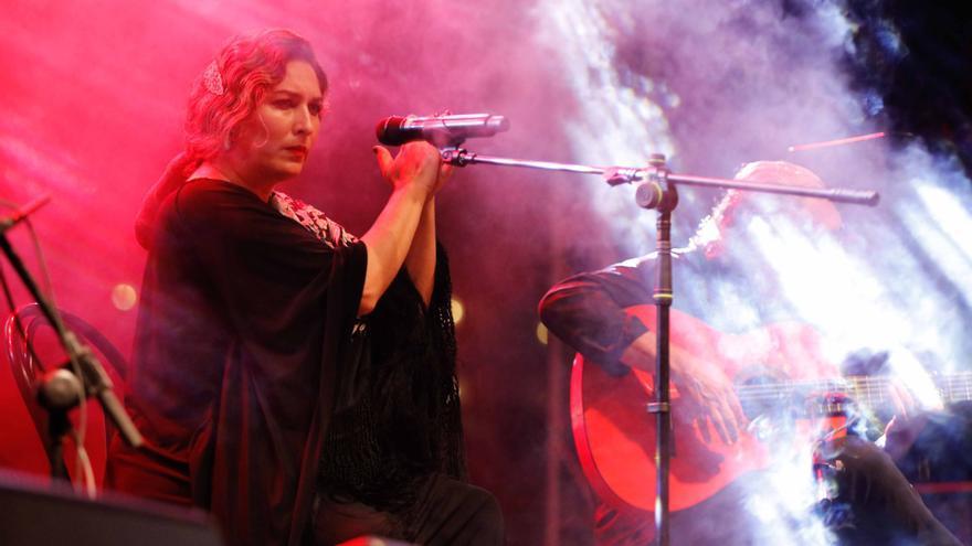 Estrella Morente canta a la Brisa de Portmany en Ibiza