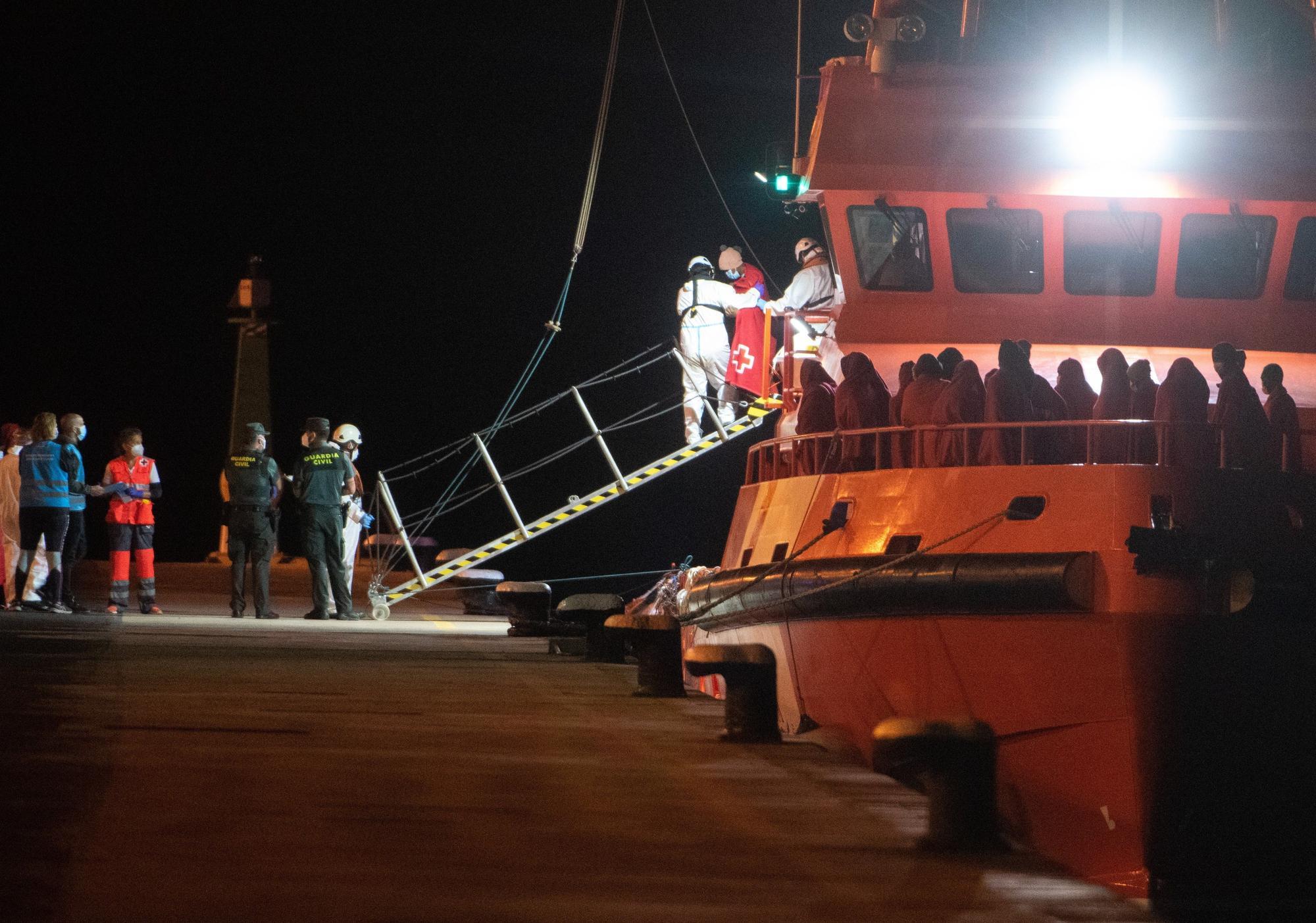 Llegada de migrantes a Fuerteventura (11/10/21)