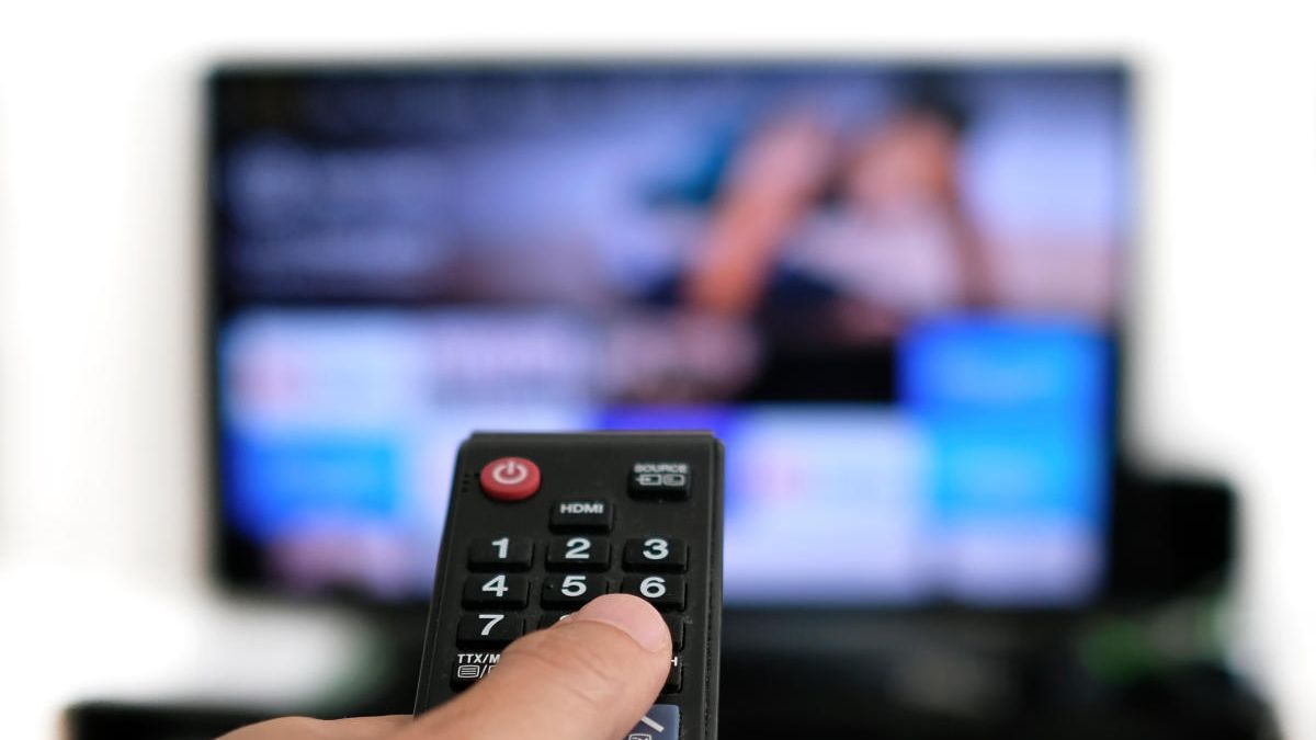 Television consumption increases in November.