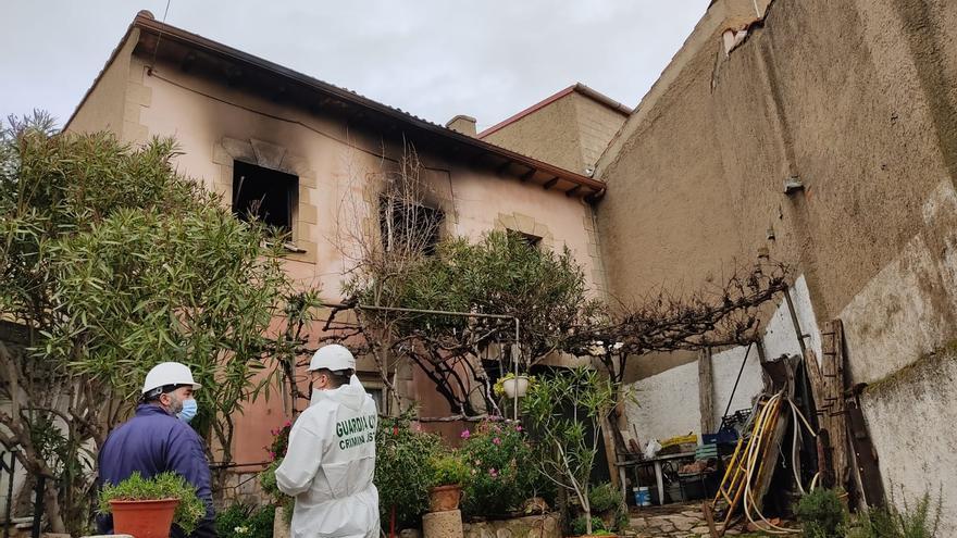 El incendio en una vivienda de Toro pudo originarse por un brasero