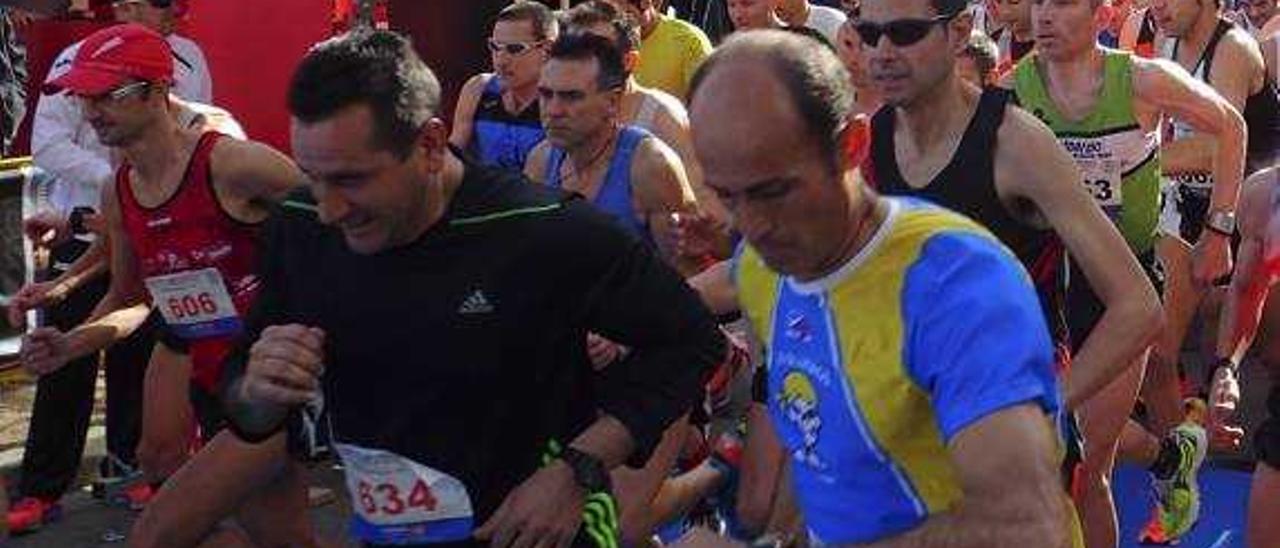 Fernando Escrivá y Félix Pont dominan en Oliva